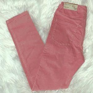 NWT 💞 Zara Girls Corduroy Pink Pants!